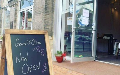 Gean & Olive – Open for Business